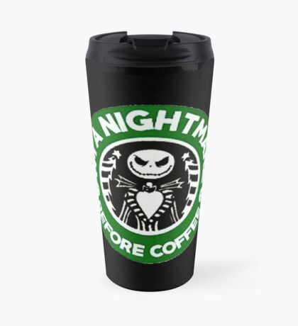 Nightmare Before Coffee Travel Mug