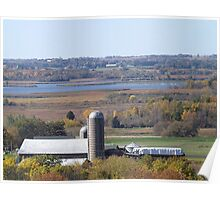 Wisconsin in Fall Poster
