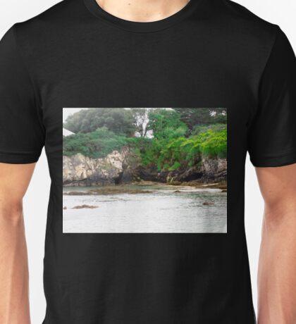 Cliffs at Portsalon, Donegal, Ireland Unisex T-Shirt