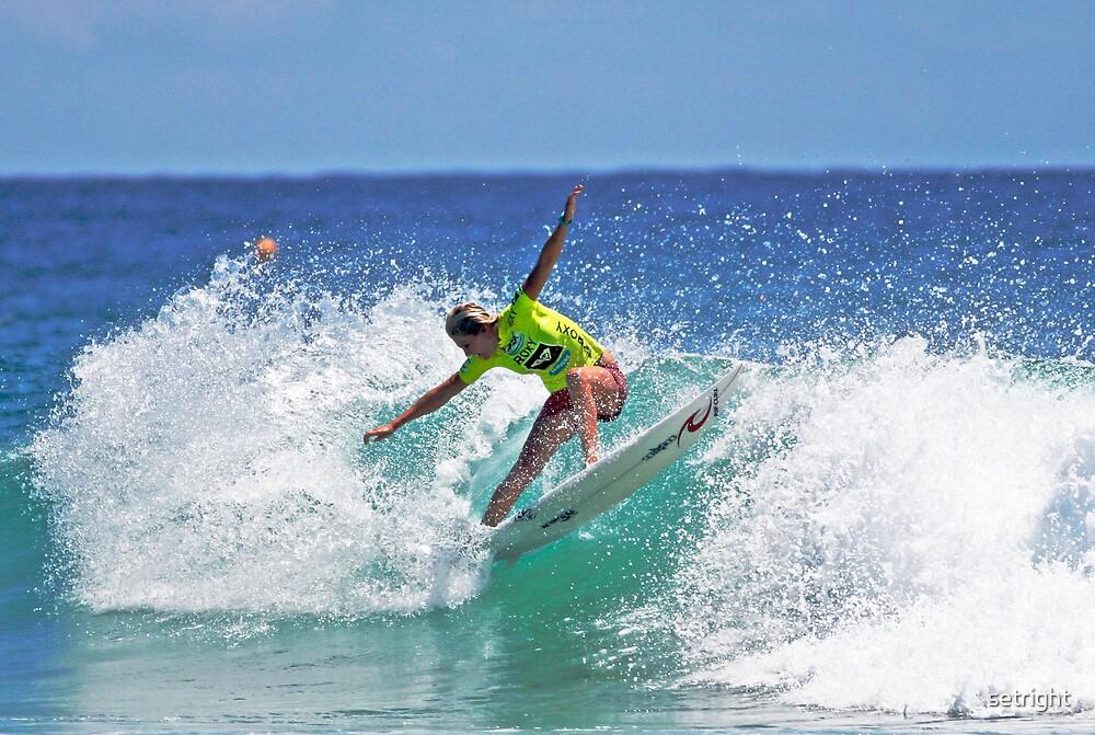 Roxy Pro Surfer by Matthew Setright