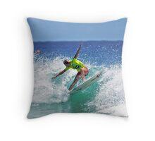 Roxy Pro Surfer Throw Pillow