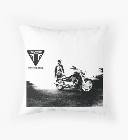 Triumph cruiser Throw Pillow