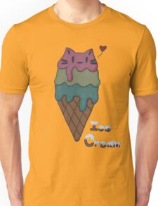 Ice Cream Cat Unisex T-Shirt