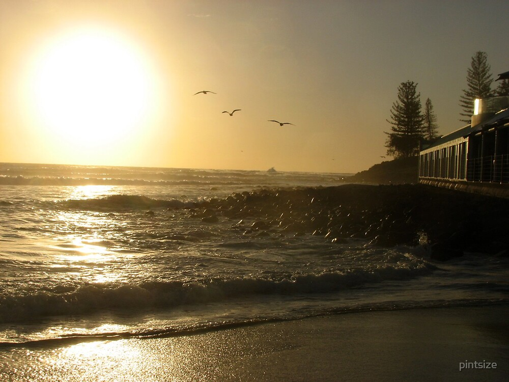 BURLEIGH BEACH by pintsize