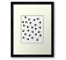 Penguins! Framed Print