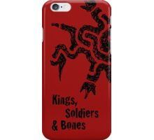Kings, Soldiers & Bones iPhone Case/Skin