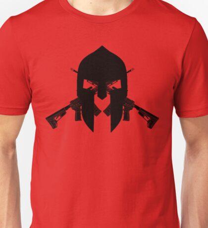 Spartan Black  Unisex T-Shirt