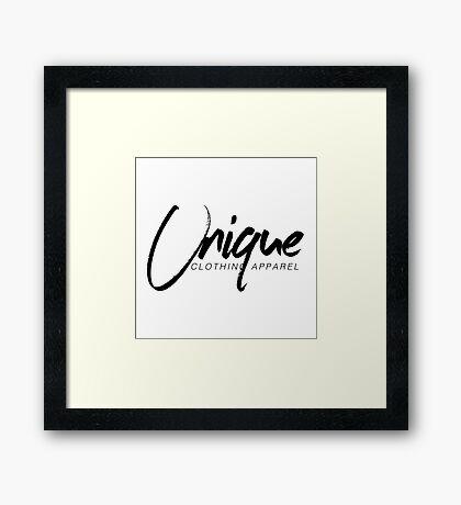 Unique Clothing Merchandise Framed Print