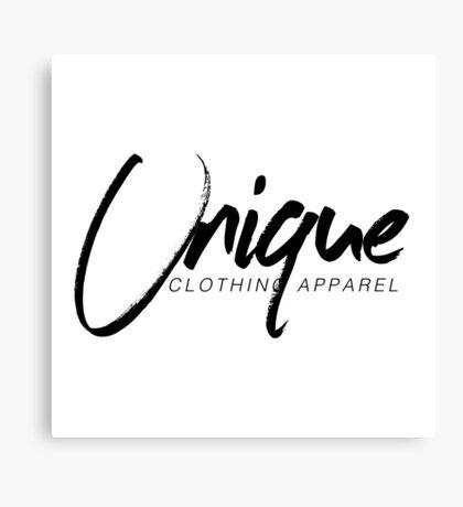 Unique Clothing Merchandise Canvas Print