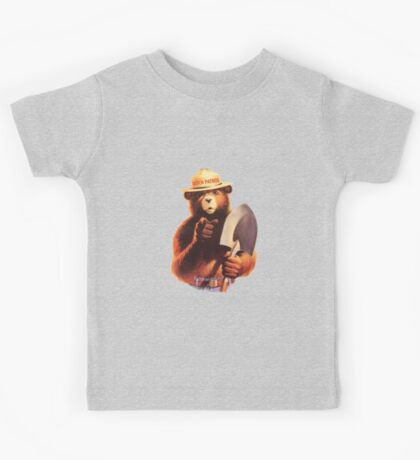 Bitch Patrol Smokey the Bear Kids Tee