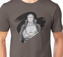 Roronoa Zoro - B/W Theme Unisex T-Shirt
