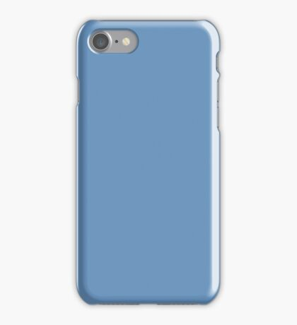 YOU BLUE SOLID iPhone Case/Skin
