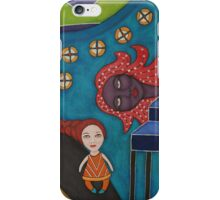 Le Chemin du Petit Monstre iPhone Case/Skin