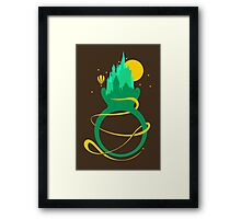 Emerald Ring Framed Print