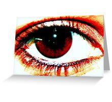 Eye Spy Also Greeting Card