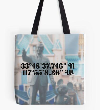 Coordinates [Disneyland] Tote Bag