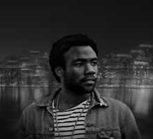 Childish Gambino Donald Glover Oakland by Wirlyquirly