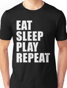 Eat Sleep Play Repeat Cute For T Shirt Man Men Woman Women Player Sport Baseball Football Basketball Video Game Gamer Lover Cute Funny Gift Party Unisex T-Shirt
