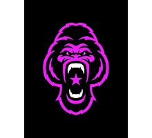 Pink Gorilla Photographic Print