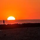 Jetty Sunset by KarenDinan