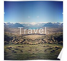 Travel. Lake Tekapo Poster