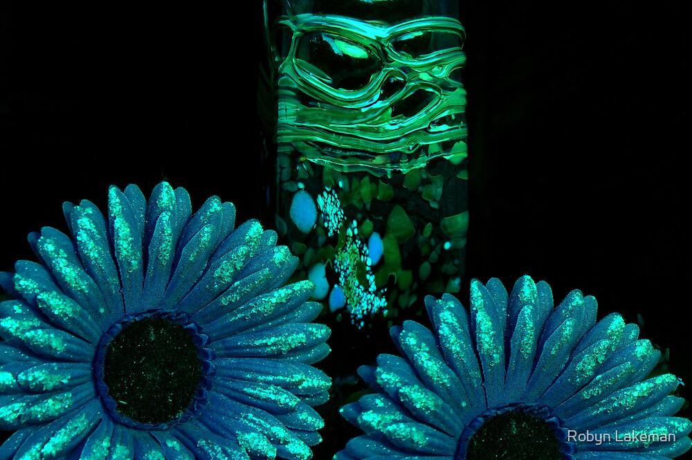 Alien flowers by Robyn Lakeman
