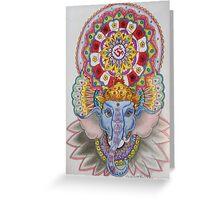Ganesh-sp Greeting Card