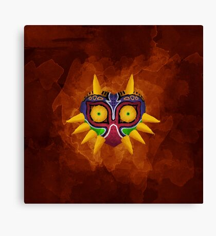 Majora's Mask Paint Canvas Print