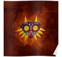 Majora's Mask Paint Poster