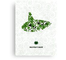 Majora's Mask Ocarina Canvas Print