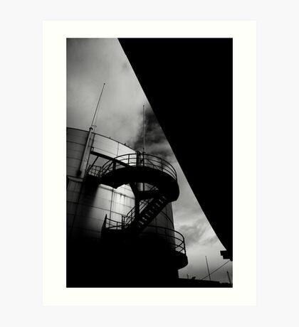 Upwards and Under Art Print