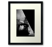 Upwards and Under Framed Print