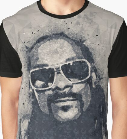 Snoop Doggie Dogg Abstract painting Graphic T-Shirt