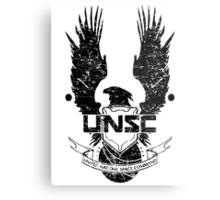 UNSC LOGO HALO 4 - GRUNT DISTRESSED LOOK Metal Print