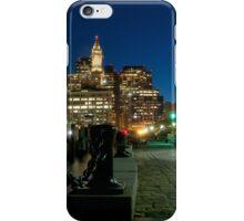Boston MA - Harbour Lights iPhone Case/Skin
