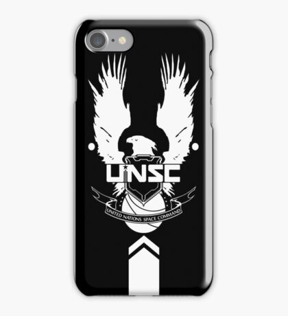 UNSC LOGO HALO 4 iPhone Case/Skin