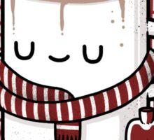 Winter Warmer Sticker