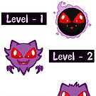 Levels Of Spoopyness  by ArchXAngel45