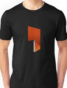 Glitch Homes Wallpaper hell fire left divide Unisex T-Shirt