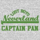 Neverland Lost Boys - Captain Pan by rexannakay
