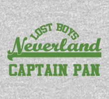 Neverland Lost Boys - Captain Pan by rexannakay
