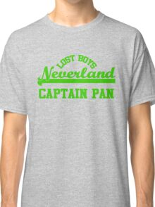 Neverland Lost Boys - Captain Pan Classic T-Shirt