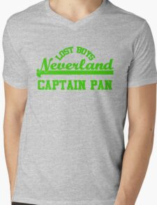 Neverland Lost Boys - Captain Pan Mens V-Neck T-Shirt