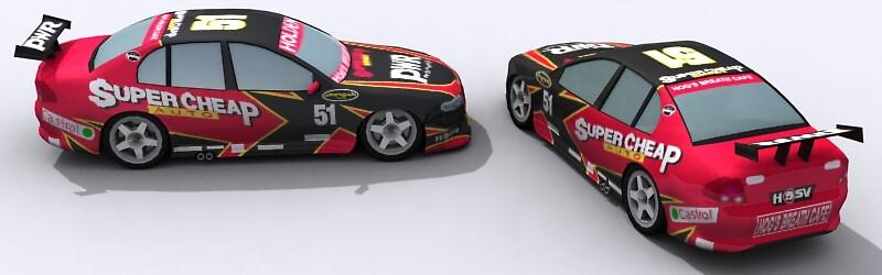 Super Cheap Auto V8 Super Car by SenorFreebie