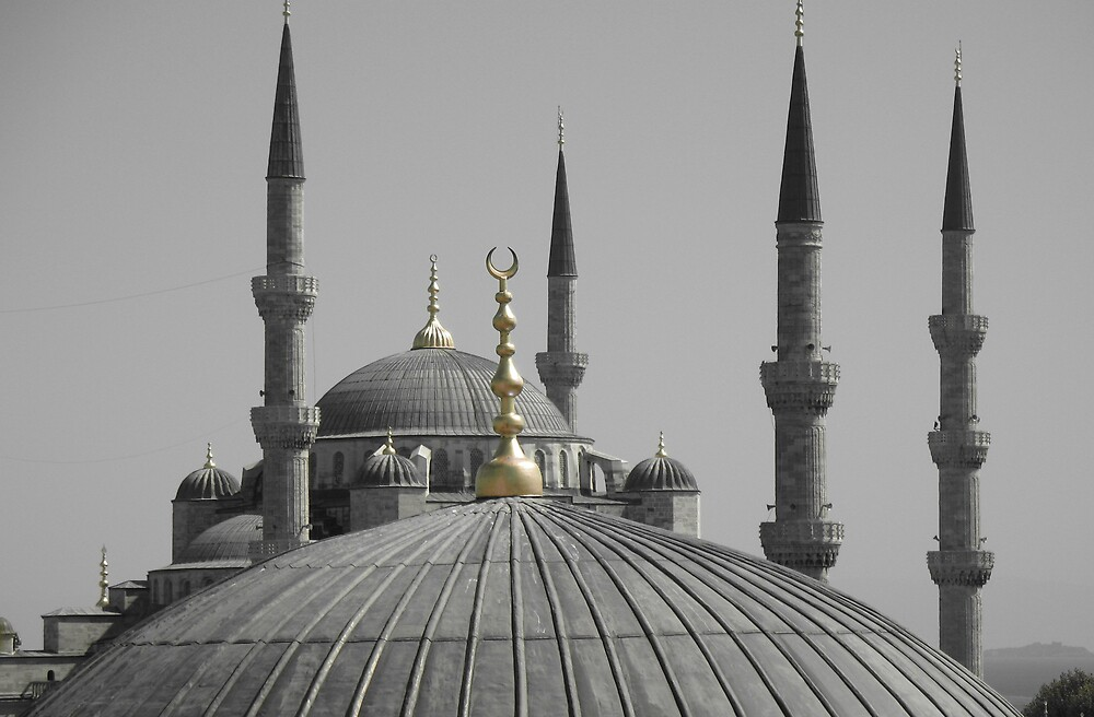The Blue Mosque by robmackinnon