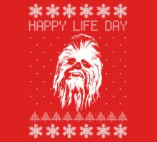 Happy Life Day Shirt / Sweater / Coffee Mug / Pillow - Star Wars Holiday Special - Christmas Sweater Design by HelloGreedo
