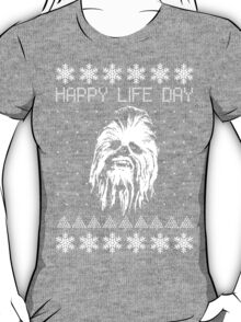 Happy Life Day Shirt / Sweater / Coffee Mug / Pillow - Star Wars Holiday Special - Christmas Sweater Design T-Shirt