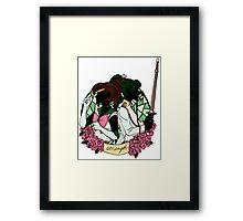 Jupiter x Saionji - STRENGTH Framed Print