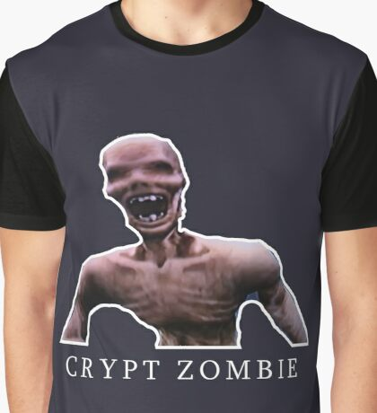 TimeSplitters Series - Crypt Zombie Graphic T-Shirt