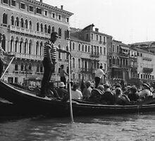 Gondola Ride-Venice, Italy by kristiepatricia